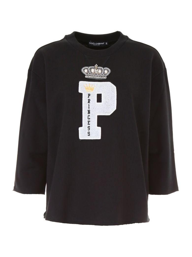 EMBROIDERED PATCH SWEATSHIRT