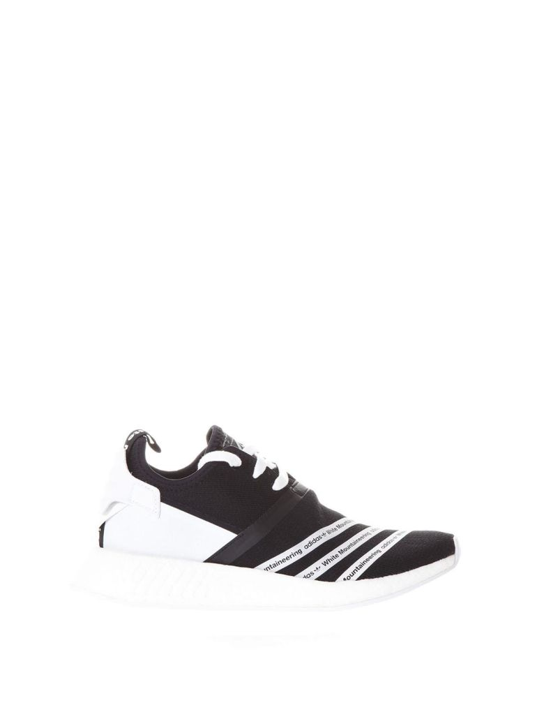 25461f85d7c ADIDAS ORIGINALS + WHITE MOUNTAINEERING NMD R2 PRIMEKNIT SNEAKERS ...