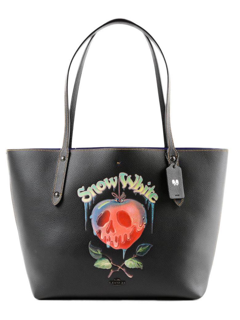 Poison Apple Market Tote, Bp/Black
