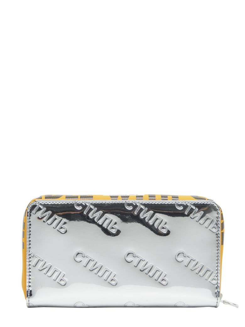 Silver Style Handle Zip Around Wallet HPC Trading Co. wkZ8lJH
