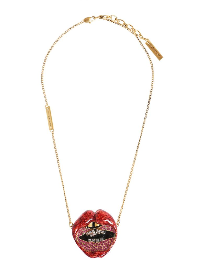 LIPS IN LIPS NECKLACE