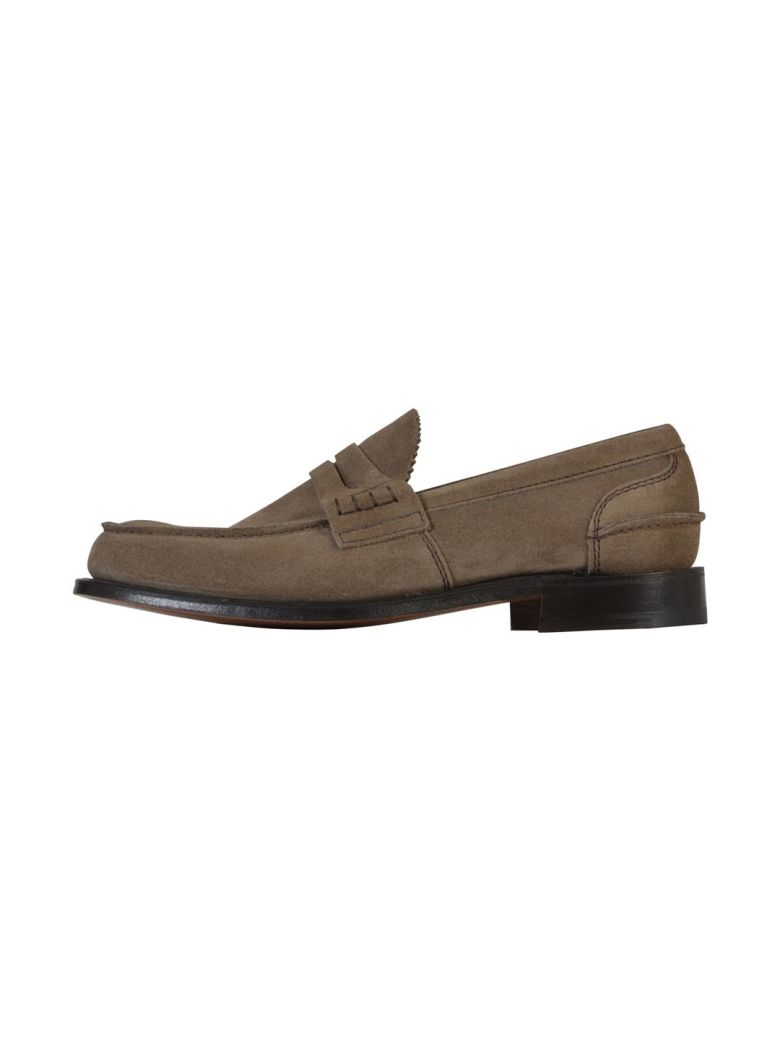 CHURCH'S BEIGE PEMBREY LOAFERS