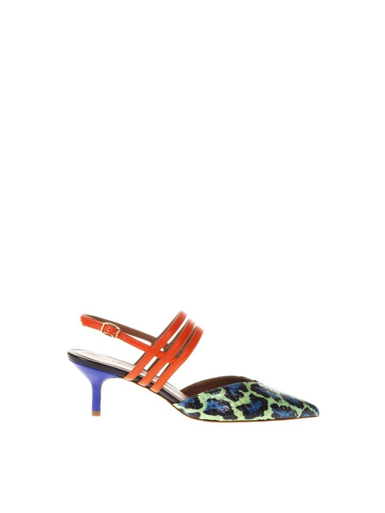 LIZA 1 MULTICOLOR SANDALS IN LEATHER