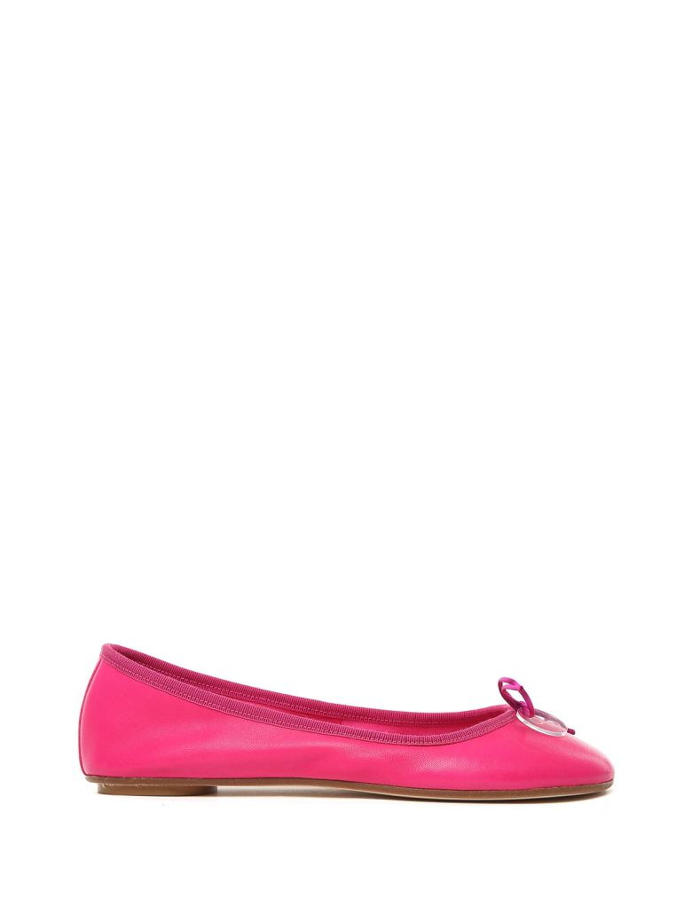 ANNA BAIGUERA Annette Leather Ballet Flats in Pink