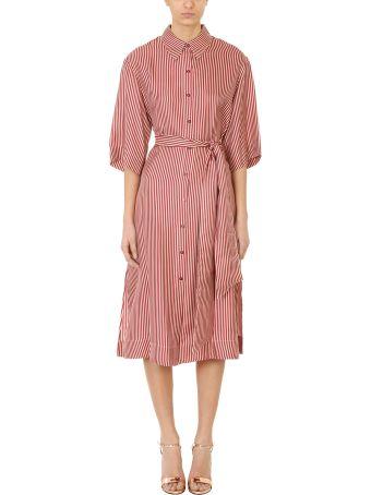 Diane Von Furstenberg 3 /4 Belt Dress