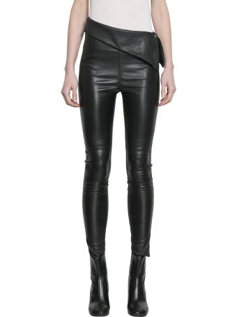 RTA Skinny Nappa Leather Pants