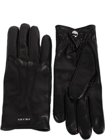 Prada Logo Gloves