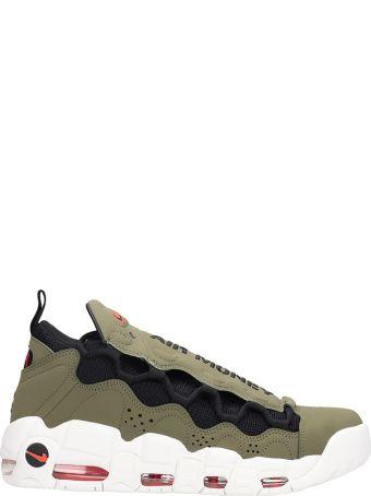 Nike Air More Money Grey Nabuk Sneakers