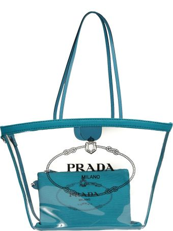 Prada Plexiglas Shopper Bag