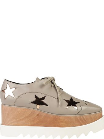 Stella Mccartney Lace Up Platform Shoes