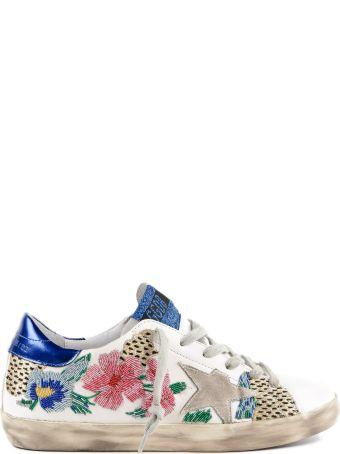 Golden Goose Sneakers Superstar Flower Leo