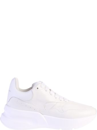 Alexander McQueen White Lace-up Sneakers