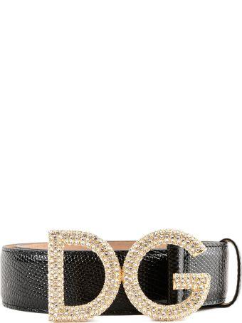 Dolce & Gabbana St. Iguana Belt