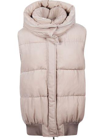 Stella McCartney Velvet Hooded Vest
