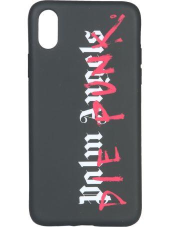 Palm Angels Iphone X Black Die Punk Cover