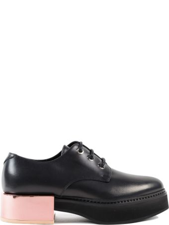 Alexander McQueen Leather Lace Up Shoe