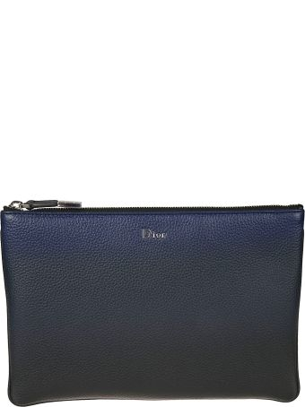 Dior Homme Classic Leather Clutch