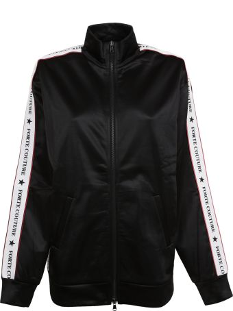 Forte Couture Side Strip Bomber Jacket