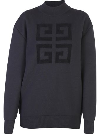 Givenchy Black Logoed Sweater