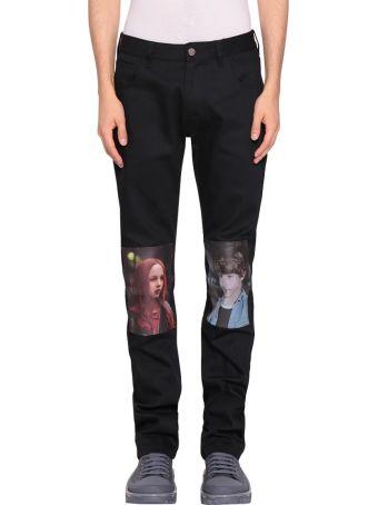 Raf Simons Christiane F. Detlef Cotton Jeans