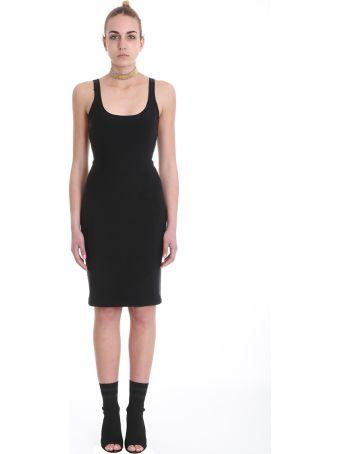 Alexander Wang Bodycon Dress In Black Nylon