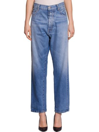 Ben Taverniti Unravel Project Cotton Denim Jeans