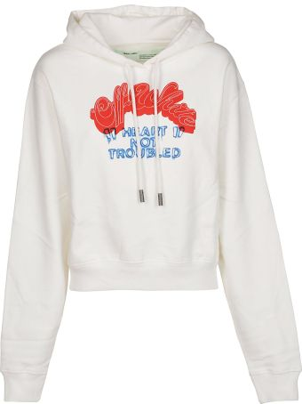 Off-White Heart Not Troubled Hoodie
