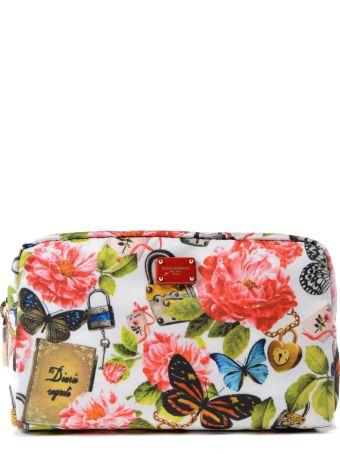 Dolce & Gabbana Nylon Printed Pouch