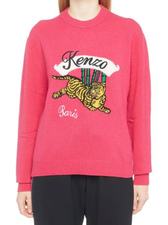 Kenzo 'jumping Tiger' Sweater
