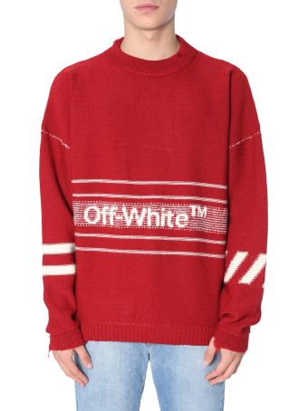 Off-White Round Collar Sweater