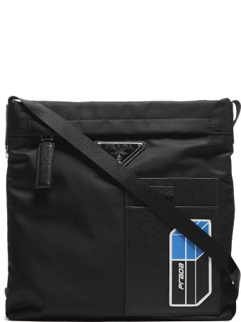 Prada Logo Shoulder Bag