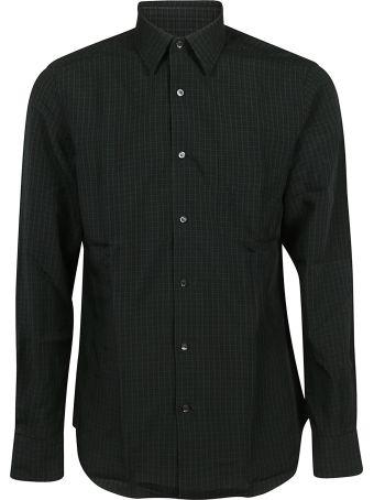 Aspesi Micro Check Print Shirt