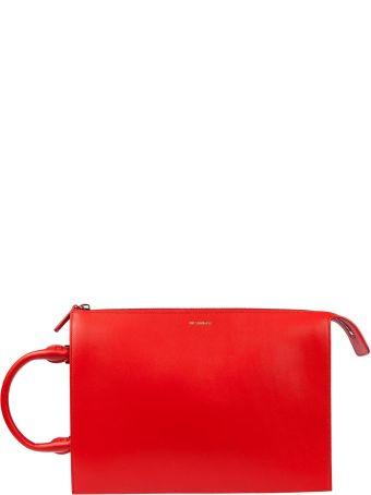 Jil Sander Geometric Shoulder Bag