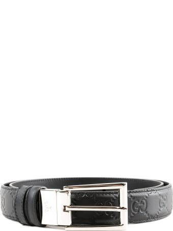 Gucci Reversible Gg Signature Belt