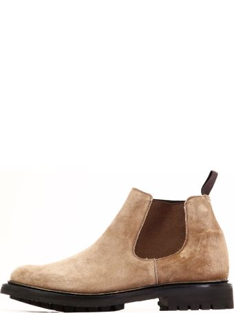 Church's Boot Brown Suede