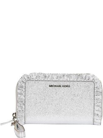 Michael Michael Kors Jet Set Zip Around Wallet