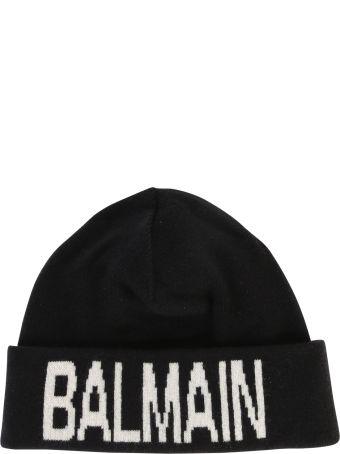 Balmain Wool And Cashmere Beanie