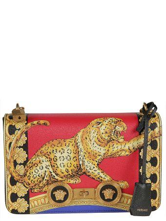 Versace Pillow Talk Print Icon Shoulder Bag