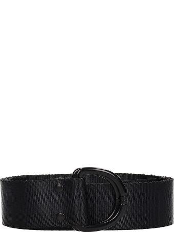 Y-3 Black Technical Fabric Belt