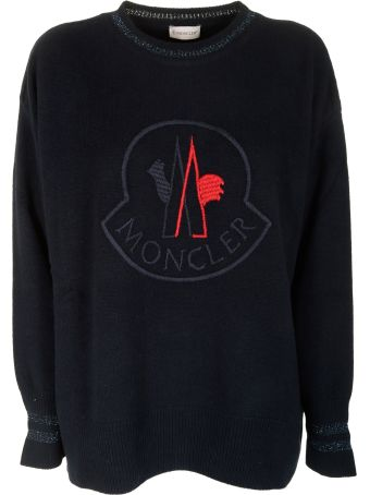 Moncler Embroidered Logo Sweater