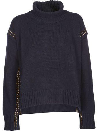 Paul Smith Split-side Roll Neck Sweater
