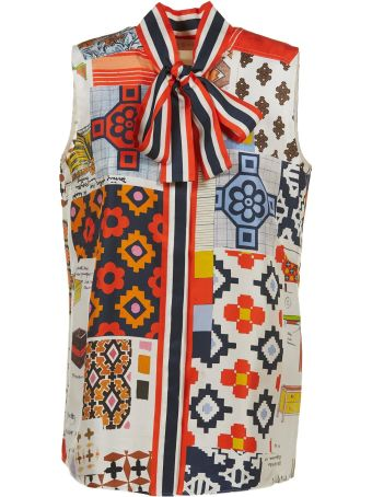 Tory Burch Printed Shirt