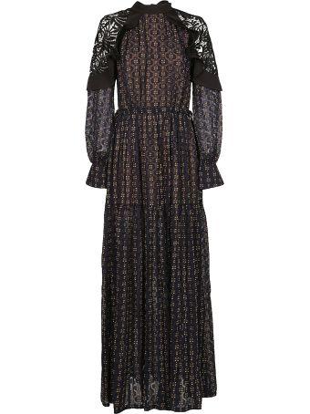 self-portrait Lace Detail Dress