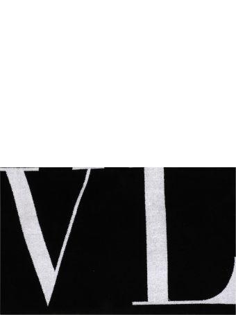 Valentino Garavani Vltn Logo Beach Towel