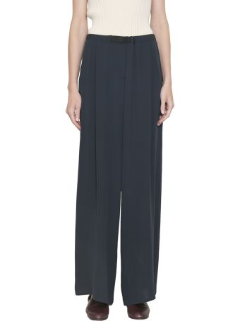 Dusan Silk Crepe Pants