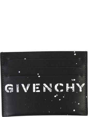 Givenchy Black Branded Card Holder