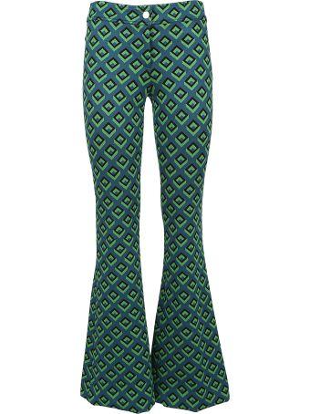 Diane Von Furstenberg Retro Print Trousers