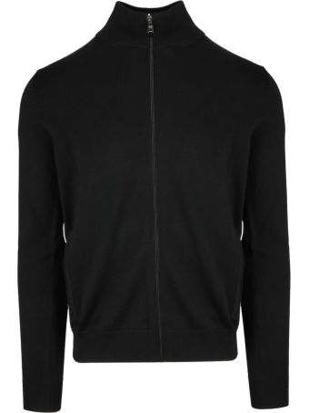 Prada Linea Rossa Zipped Up Sweater