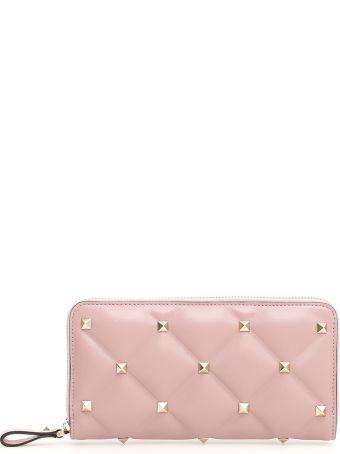 Valentino Candystud Zip-around Wallet