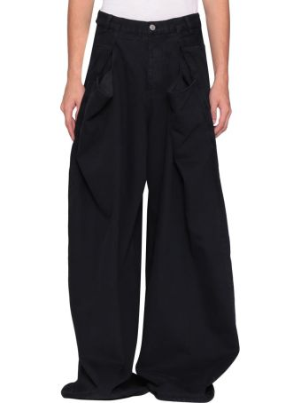 Martine Rose Oversized Cotton Denim Jeans